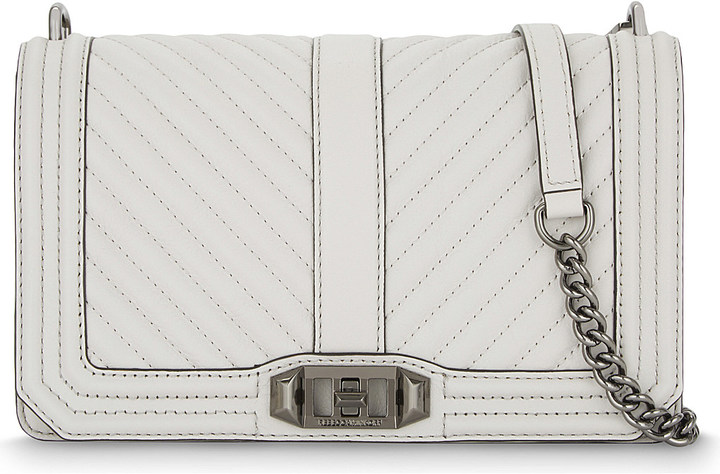 Rebecca Minkoff Rebecca Minkoff Love leather cross-body bag