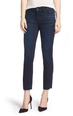 Paige Transcend Vintage - Skyline Crop Skinny Jeans