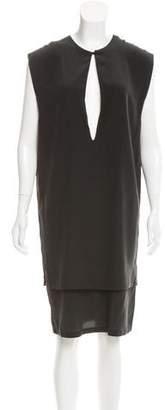 OAK Sleeveless Silk Dress