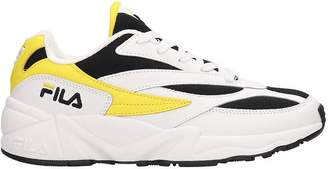Fila Leather And Mesh 94 White Sneakers
