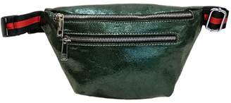 Leather Country Metallic Fanny Bag