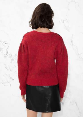 Zebra Shoulder Sweater