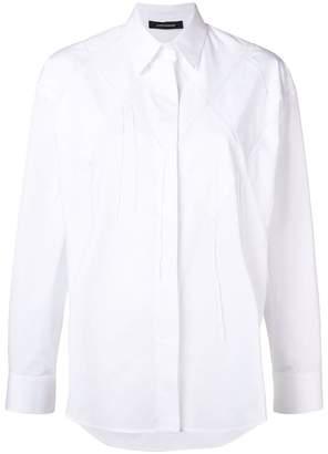 Cédric Charlier rhomb pattern shirt