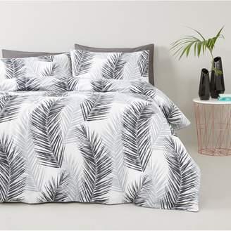 Very Tropical Palm Leaf Duvet Set - Sk