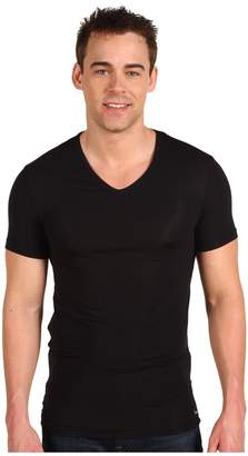 Calvin Klein Underwear Body Micro Modal S/S V-Neck U5563 Men's Short Sleeve Pullover