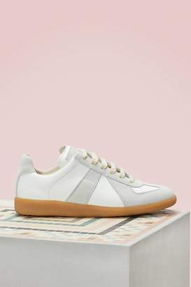 Maison Margiela Leather Replica Sneakers