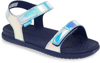 Native Charley Holographic Strappy Sandal