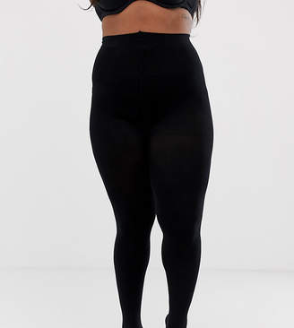 Asos DESIGN Curve super stretch new improved fit 90 denier tights
