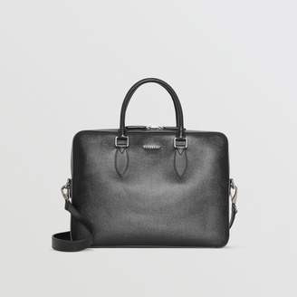 Burberry Leather Briefcase, Black