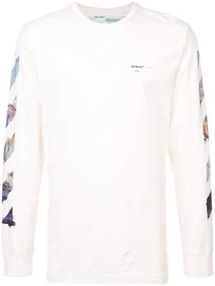 Off-White Diag Multicoloured Arrows L/S T-shirt