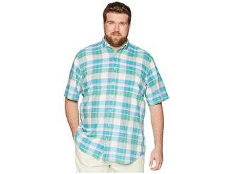 Polo Ralph Lauren Big Tall Madras Short Sleeve Sport Shirt