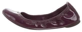 Tory Burch Patent Leather Ballet Flats