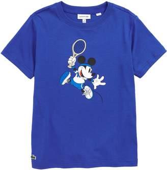 Lacoste Disney Print Graphic T-Shirt
