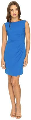Adrianna Papell Scissor Hem Side Drape Dress Women's Dress