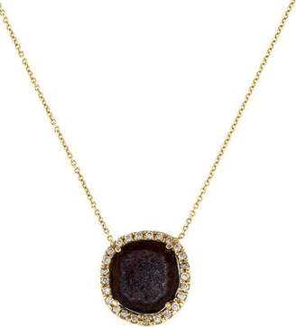 Kimberly McDonald 18K Geode & Diamond Pendant Necklace
