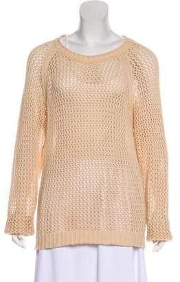 Etoile Isabel Marant Crocheted Long-Sleeve Sweater