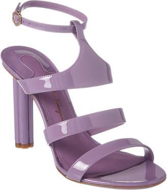 Salvatore Ferragamo Trevi Patent Sandal