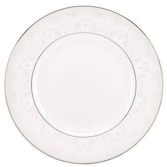 Kate Spade platinum\u002Fwhite chapel hill dinner plate