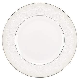 Kate Spade Platinum/White Chapel Hill Dinner Plate