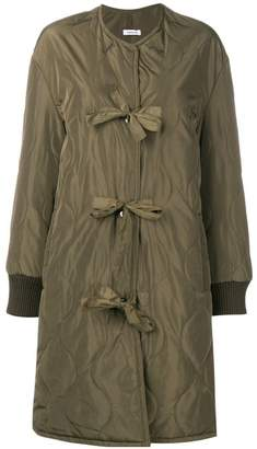 P.A.R.O.S.H. front bow coat