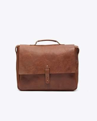 Nisolo Loreto Messenger Bag Chestnut