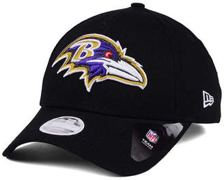 New Era Women's Baltimore Ravens Glitter Glam 9TWENTY Strapback Cap