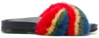 Anya Hindmarch Rainbow slides