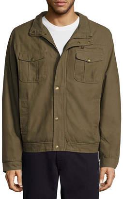 Asstd National Brand Twill Jkt Sherpa Canvas Car Coat
