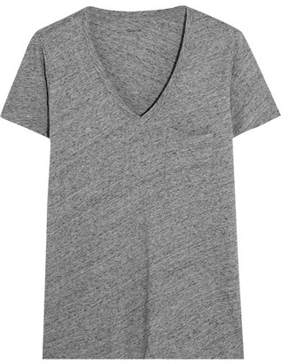 Madewell - Whisper Cotton-jersey T-shirt - Gray $25 thestylecure.com