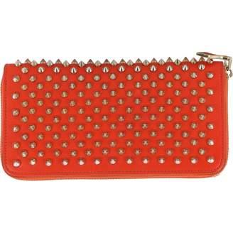 2cfea1aee1c6af Christian Louboutin Panettone Orange Leather Wallets
