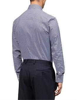 Calvin Klein Gingham Check Slim Fit Shirt