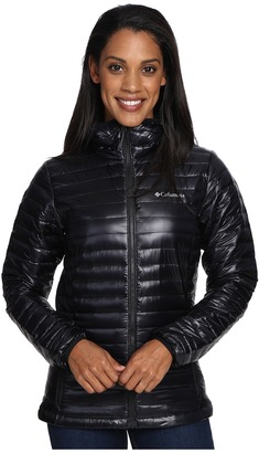 Columbia - Platinum Plus 740 TurboDown Hooded Jacket Women's Coat $220 thestylecure.com
