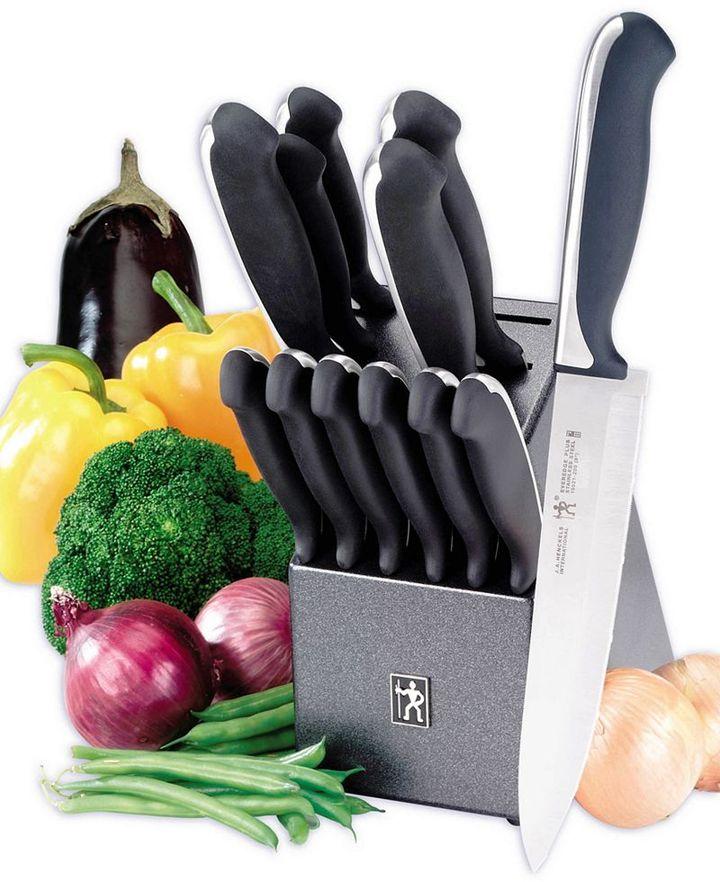 J.A. Henckels International EverEdge Plus 13-Piece Cutlery Set