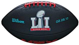 Wilson NFL Super Bowl 51 Junior Rubber Football