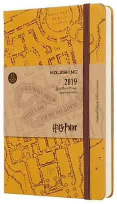 Moleskine 12M LIMITED EDITION HARRY POTTER DAILY LARGE BEIGE