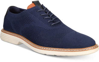 Alfani Men's Varick Comfort Flx Textured Knit Oxfords, Created for Macy's Men's Shoes