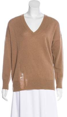 Raquel Allegra Merino Wool & Cashmere-Blend Sweater