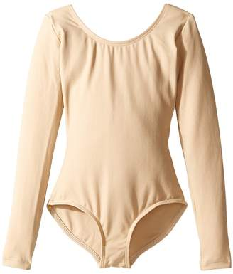 Capezio Team Basic Long Sleeve Leotard Girl's Jumpsuit & Rompers One Piece