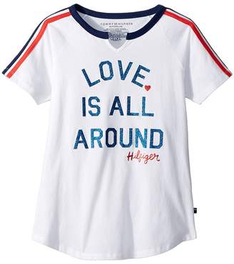 Tommy Hilfiger Love Tee Girl's T Shirt