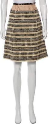 Marc Jacobs Wool Tweed Skirt Beige Wool Tweed Skirt