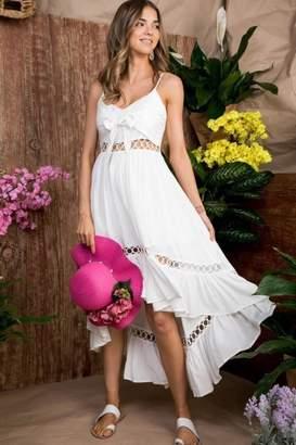 Factory Unknown White Summer Dress