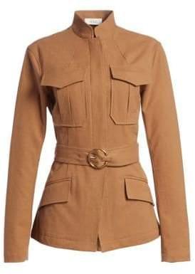 A.L.C. (エーエルシー) - A.L.C. A.L.C. Women's Milo Belted Jacket - Tobacco - Size 10