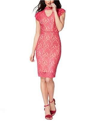 XOXO Junior's Lacey Bodycon Woven Dress