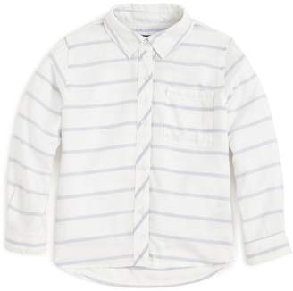 Rails Girls' Stripe Button-Down Shirt