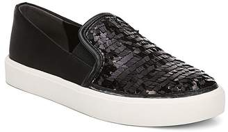 Sam Edelman Women's Elton Sequined Satin Slip-On Sneakers