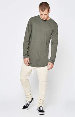 PacSun Drop Skinny Moto Fleece Jogger Pants