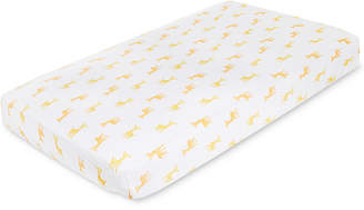 Aden Anais aden by aden + anais Baby Boys & Girls Giraffe-Print Cotton Crib Sheet
