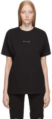 Alyx Black Logo Visual T-Shirt