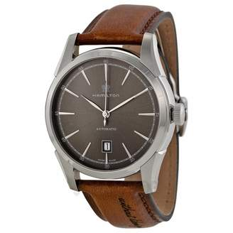 Hamilton H42415591 Spirit of Liberty Automatic Dial Leather Men's Watch