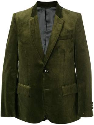 Golden Goose corduroy two-button blazer